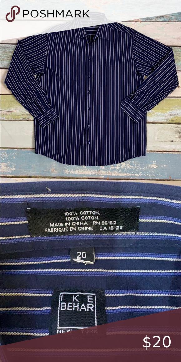 Ike Behar Gown Shirt