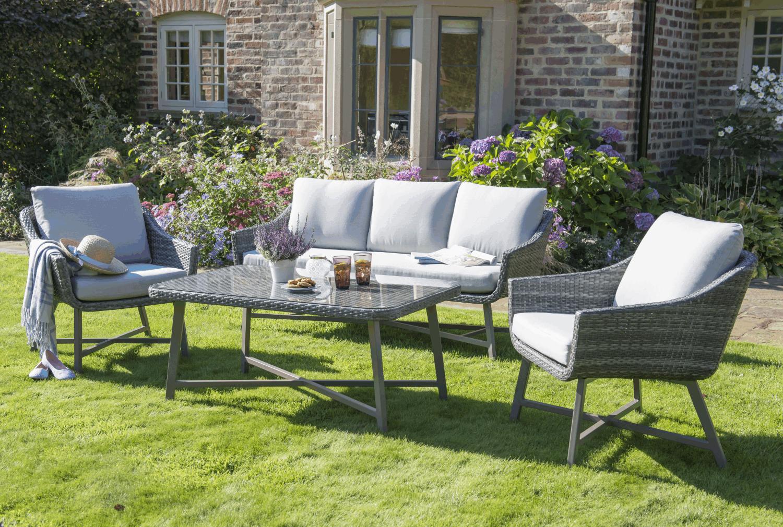 Kettler lamode seat lounge set new garden ideas pinterest
