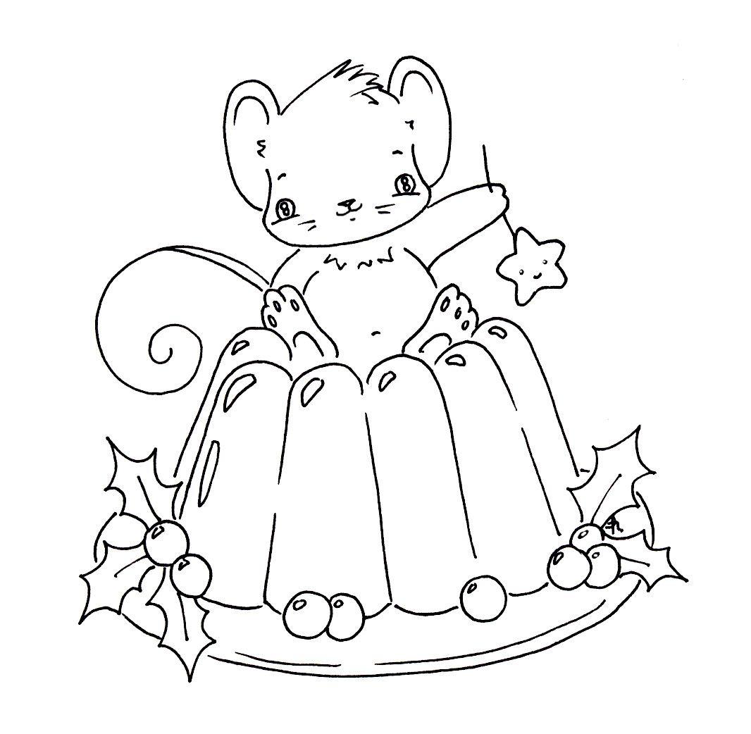 Sliekje digi Stamps: Christmas pudding | Broderie | Pinterest ...