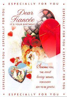 Birthday Card For Fiance