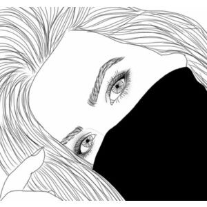 By Me We Heart It Dibujos Tumblr Dibujos Tumblr Para Colorear