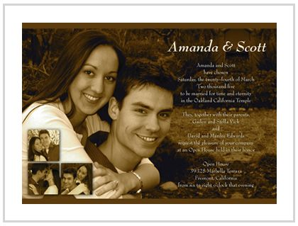 Photo Wedding Invitations Technology Vector Artwork