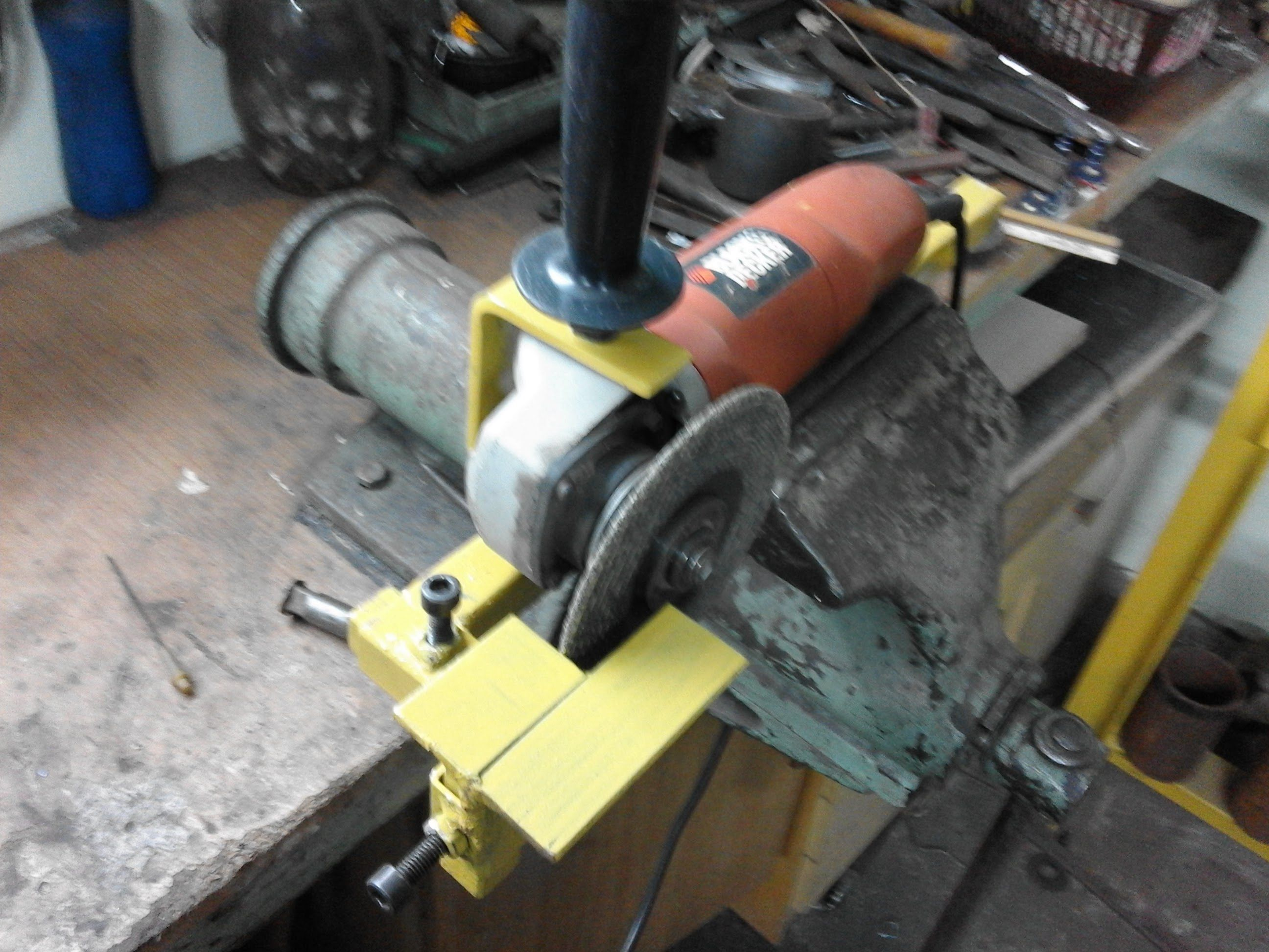 Pin By Geniusz K On Homemade Angle Grinders Stand