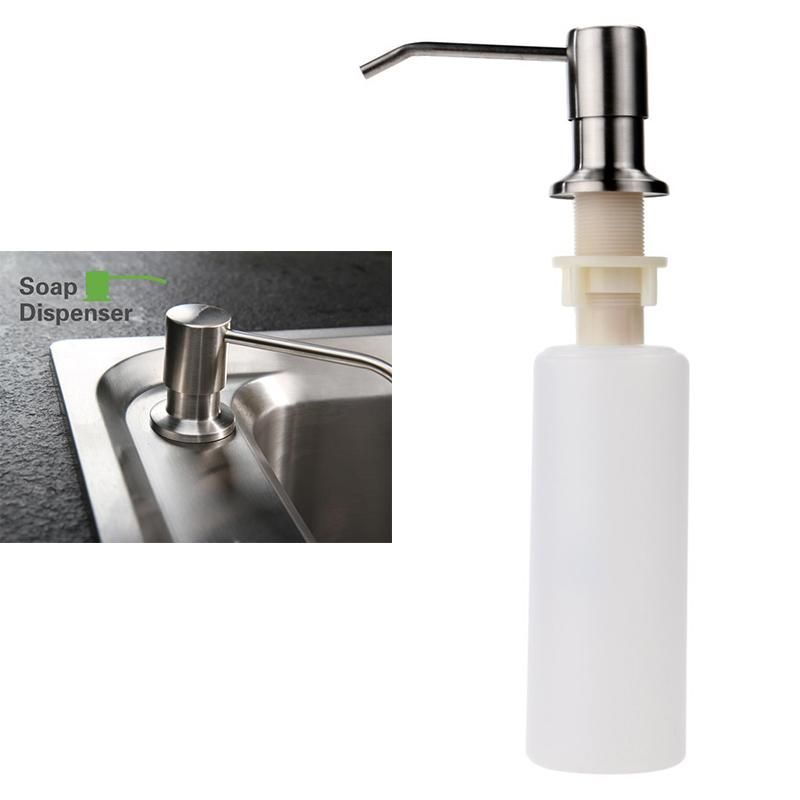 Visit To Buy 1pcs Kitchen Sink Soap Dispenser Stainless Steel