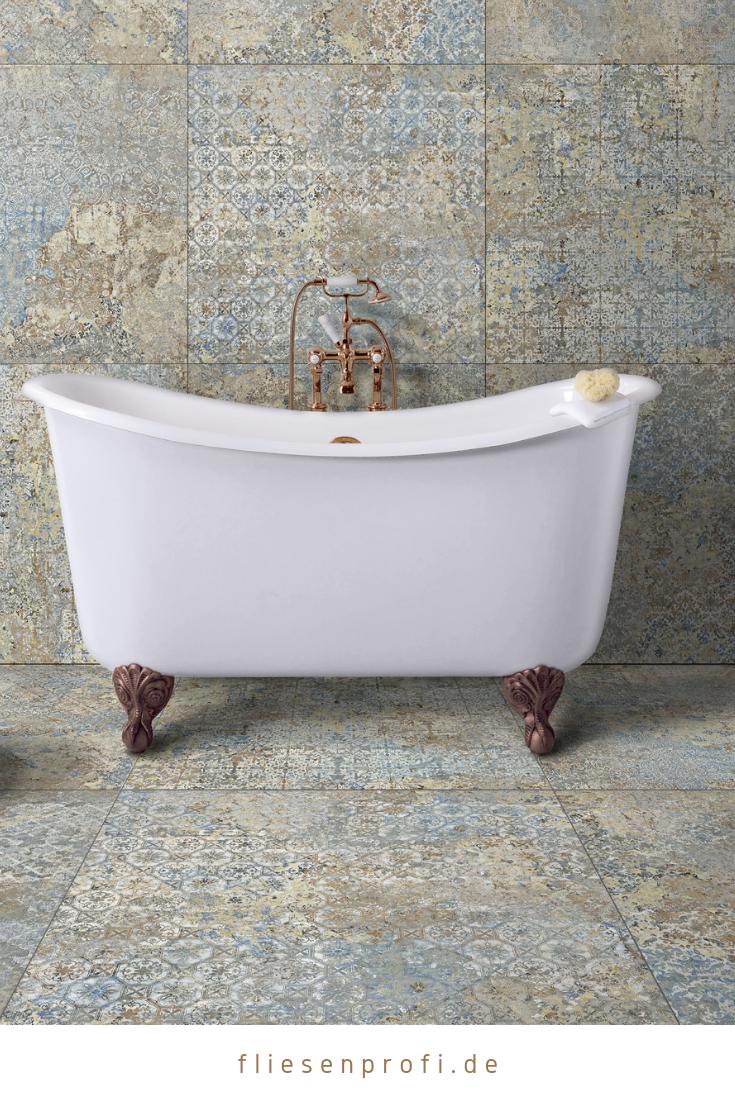 "Fliese Vintage Teppichoptik 50×100 ""Carpet Vestige natural"" 16 versch. Dekore"