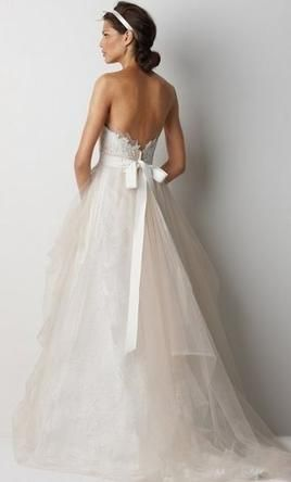 Used Watters Wedding Dress Sydney 8043B Size 8