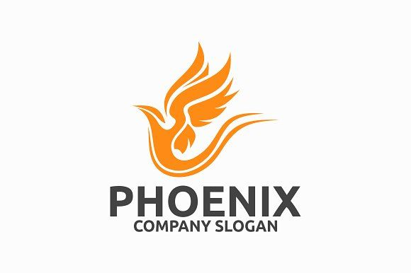 Phoenix Templates Logo Template FeaturesAI And EPS Illustrator 10 300PPI CMYK 100 Scalable Vector Files Easy By Brandlogo