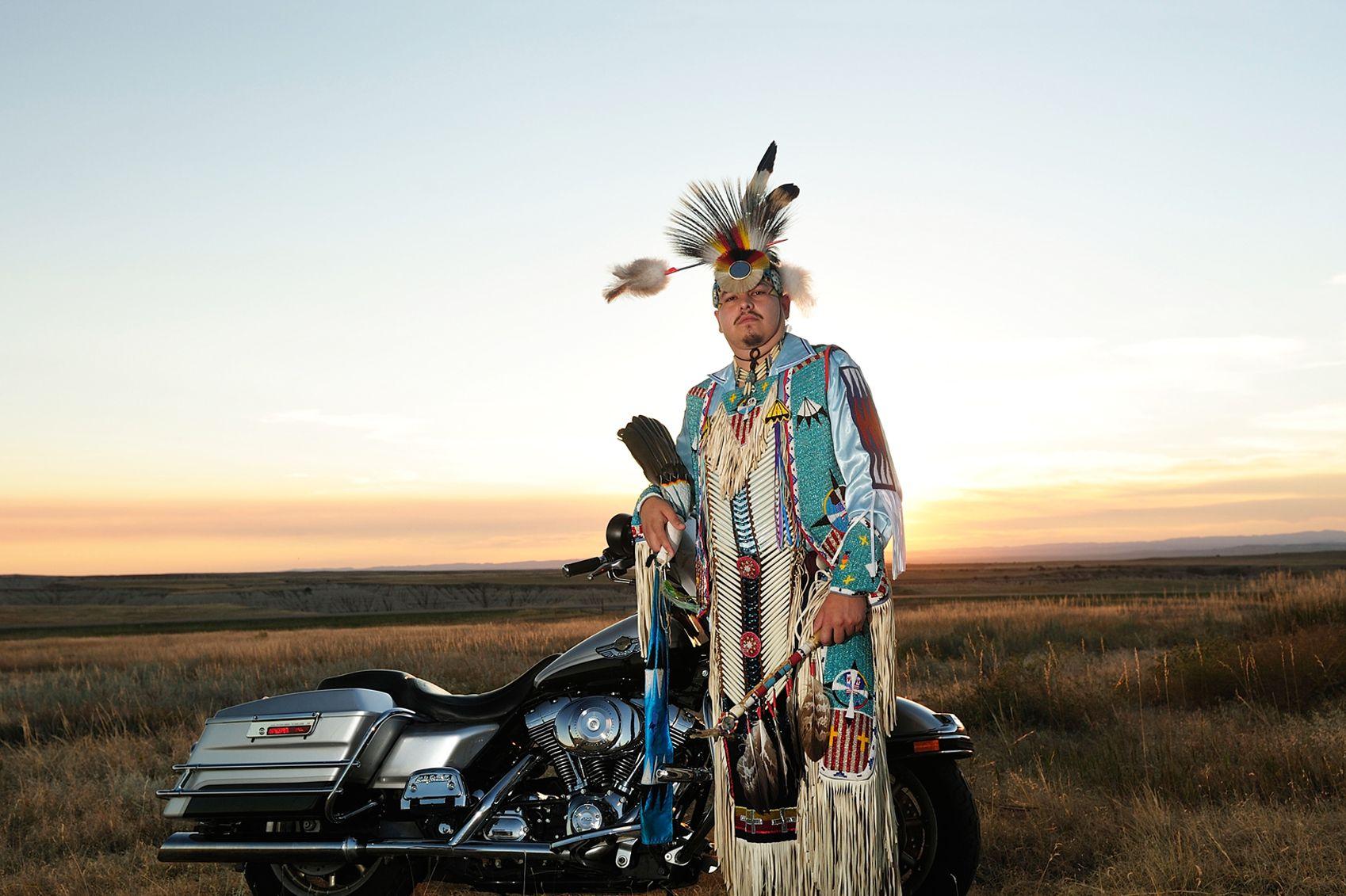 Meet Stephen Yellowhawk Keeping His Native American