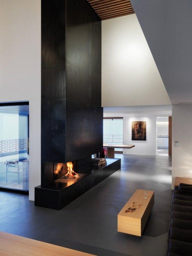 Alpine House by Ralph Germann architectes Idejas Pinterest