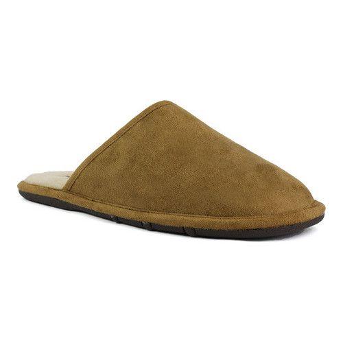21b9c55fa Black Suede Shoe Lamo Mens Scuff Slipper