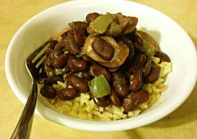 Pantry Day Red Beans & Rice Recipe -  Yummy this dish is very delicous. Let's make Pantry Day Red Beans & Rice in your home!