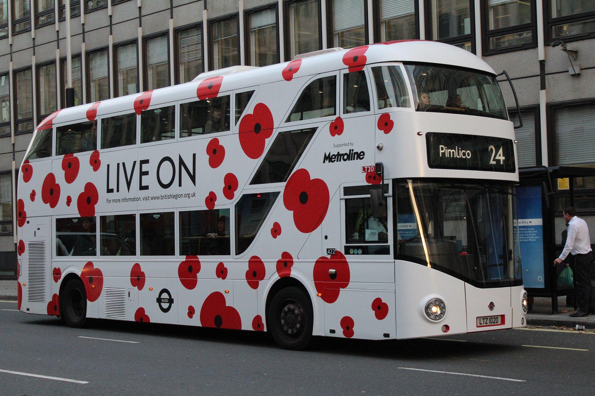 Lt20 Ltz1020 Metroline New Routemaster Routemaster London Bus