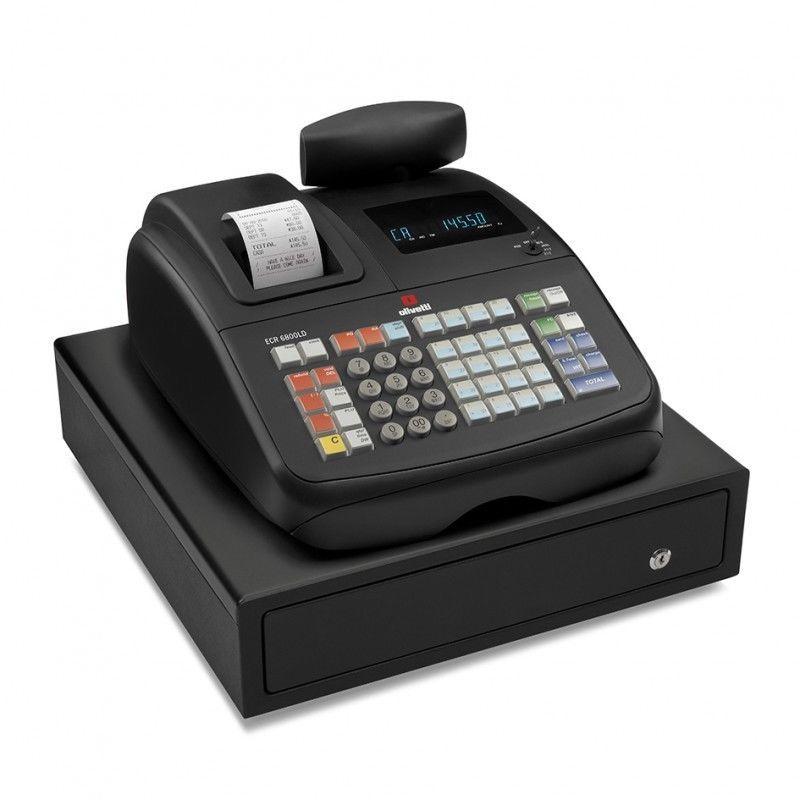 Caja Registradora Olivetti Ecr 6800 Ld Caja Registradora Cajas