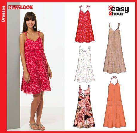 New Look 6804 | New Look sewing patterns | Pinterest | Hemline ...