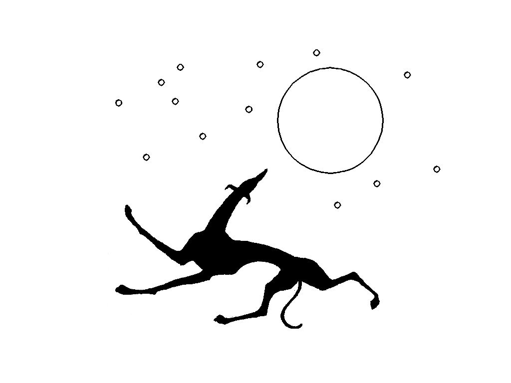 56 Awesome Whippet Clipart