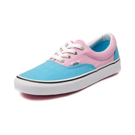 50137aa9b9 Vans Era Skate Shoe in Blue Pink at Journeys Shoes.