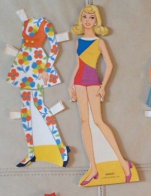 barbie paper doll clothes - Google Search