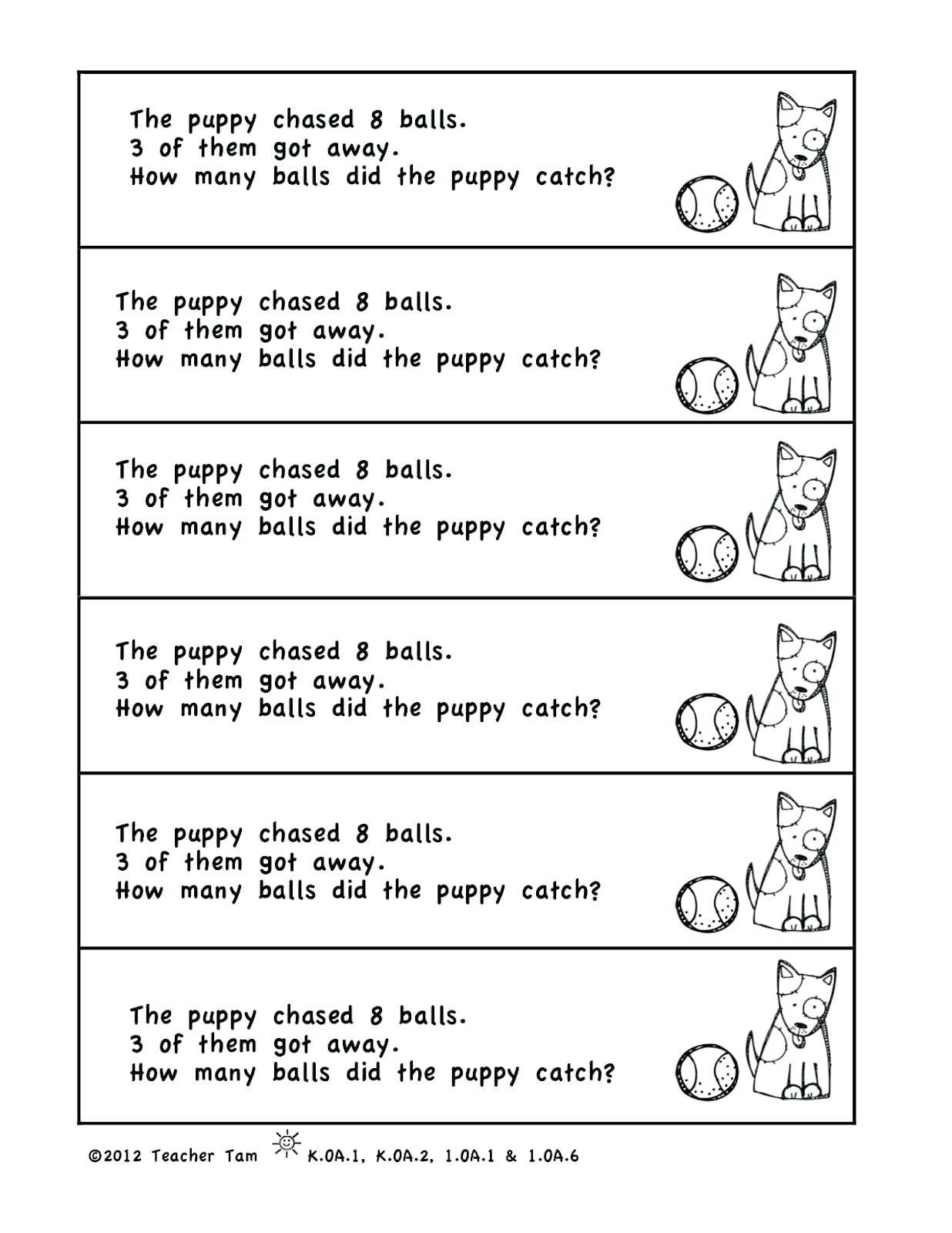 5 Free Math Worksheets Second Grade 2 Word Problems In