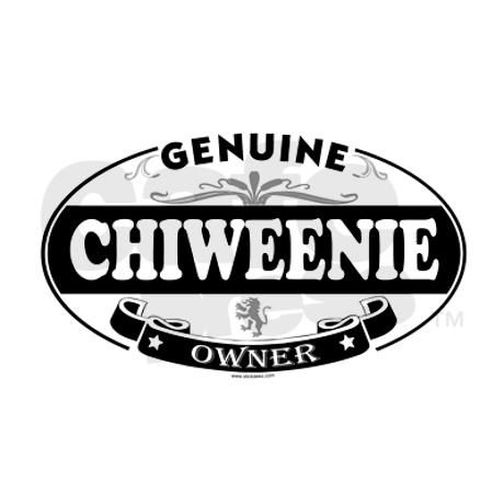 CHIWEENIE Oval Decal on CafePress.com