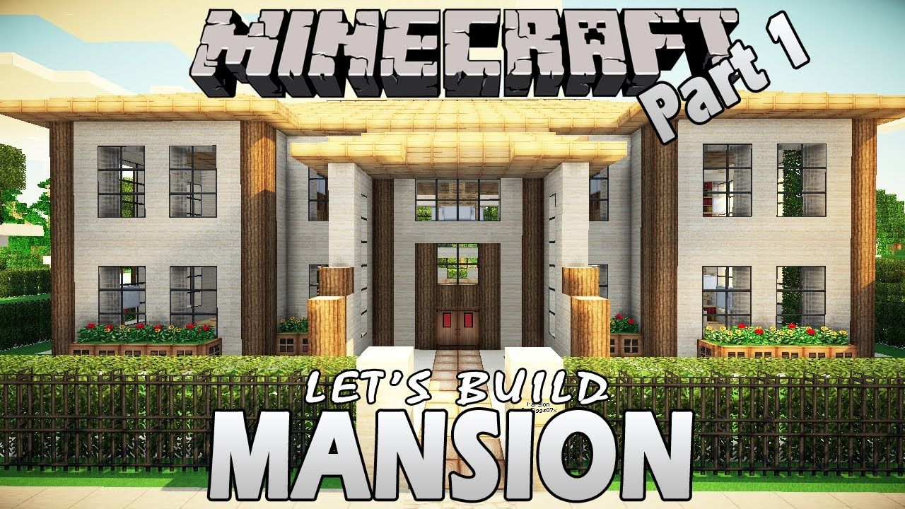 Minecraft Mansion Tutorial Step By Step Home Garden Desaign