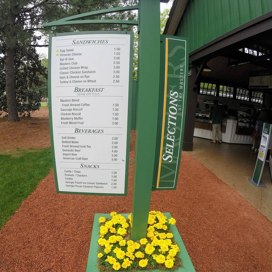 8 Things You Need to Eat and Drink at the Masters Golf