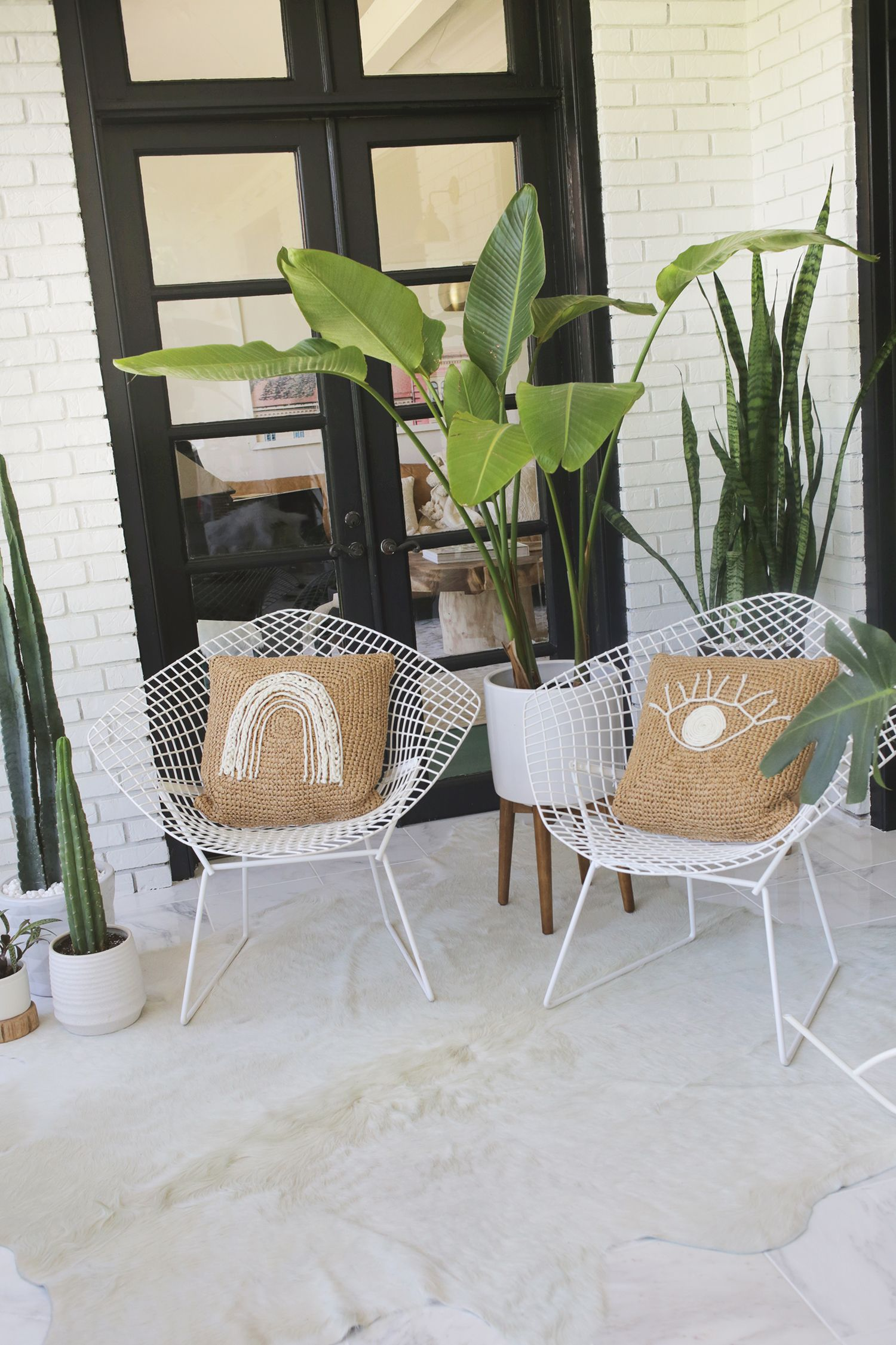 How To Weatherproof Your Metal Furniture For The Outdoors A Beautiful Mess Diy Patio Furniture Used Outdoor Furniture Metal Patio Furniture