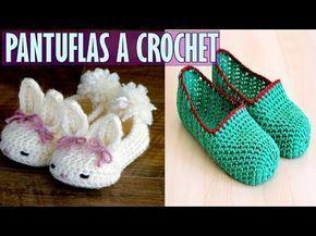 Amigurumi Conejo Paso A Paso : Zapatos de conejo tejidos a crochet paso a paso youtube