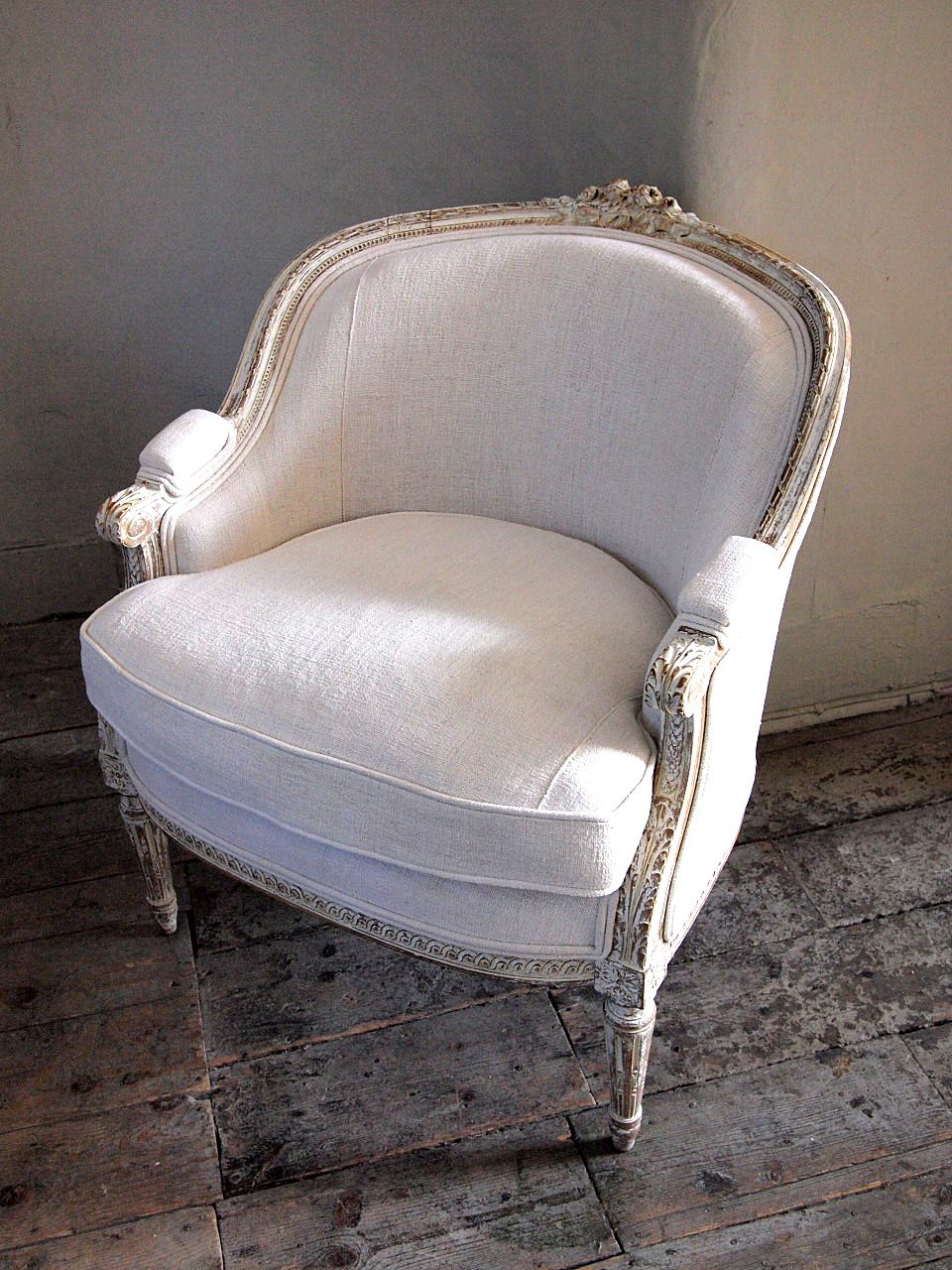 French Antique Tub Chair at Puckhaber Decorative Antiques - Photos Of Babies In Metal Tubs - Google Search Furniture