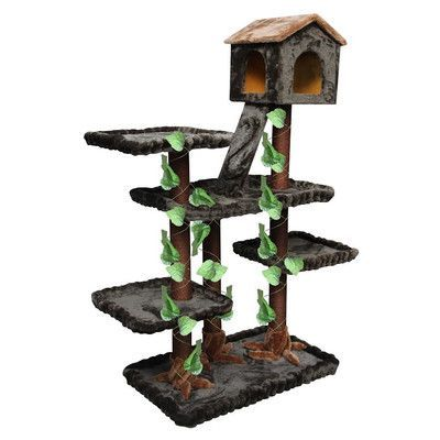 "Kitty Mansions 65"" Yosemite Cat Tree"