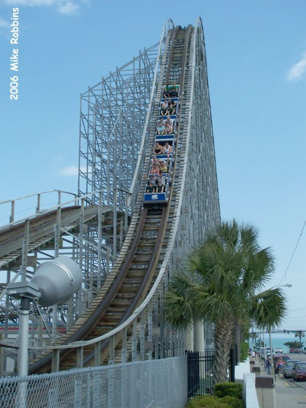 Hurricane Myrtle Beach Pavilion South Carolina Usa Didn T Enjoy Too Much It Was There So I Had To Ride