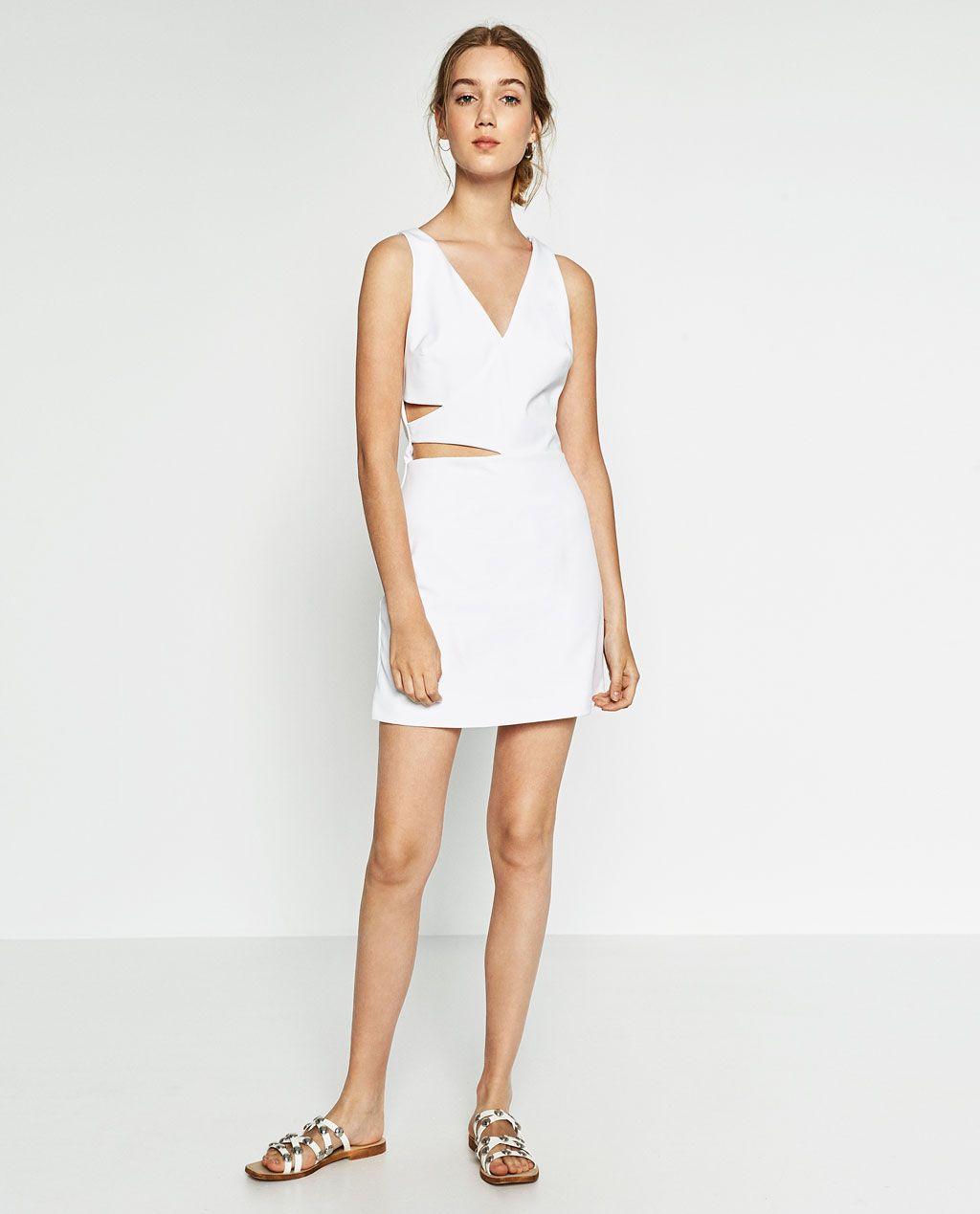 6483823e Crossover Jumpsuit Dress Zara | Saddha