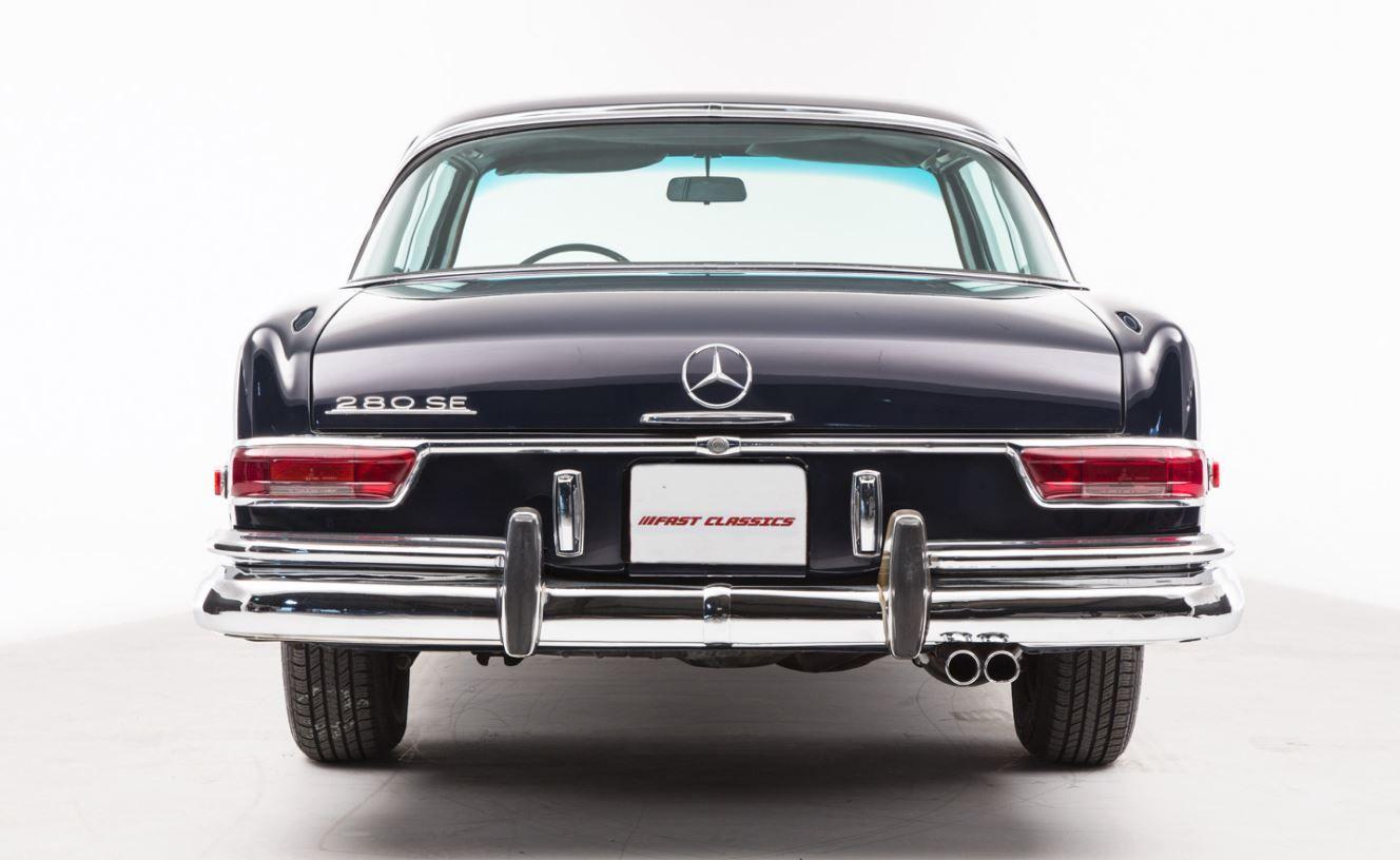 1968 MERCEDES 280 SE COUPE