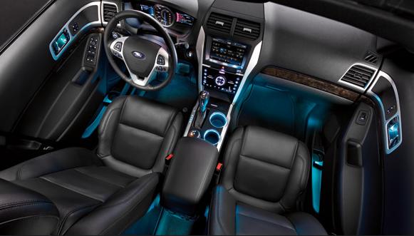 Ford Explorer Interior Lighting Cars Suv