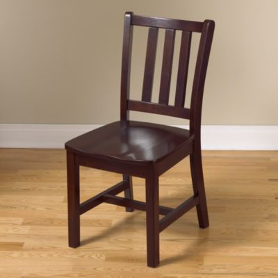 Beau Parker Desk Chair (Espresso) | Crate And Barrel