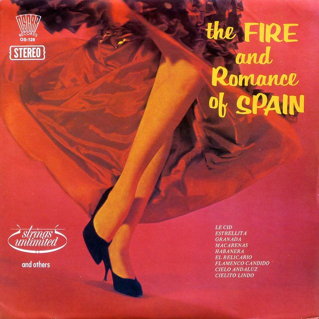 The FIRE and Romance of SPAIN (Oscar Rec.)