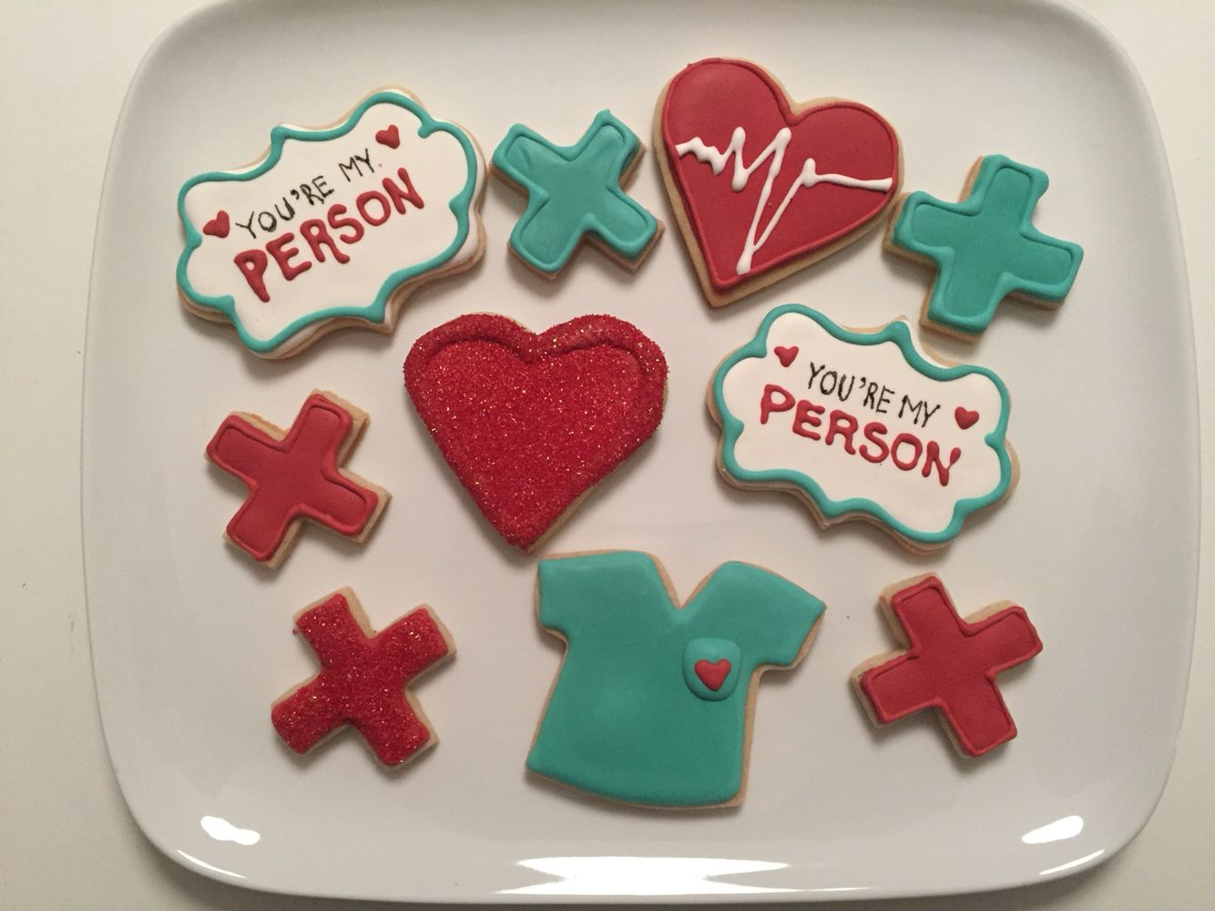 grey\'s anatomy cookies | Mika\'s Party | Pinterest | Asas, Cumple y ...