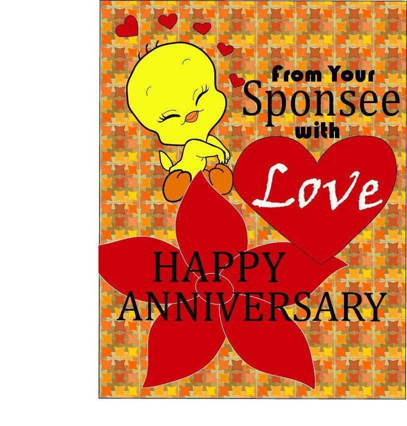 Happy Anniversary Sponsor