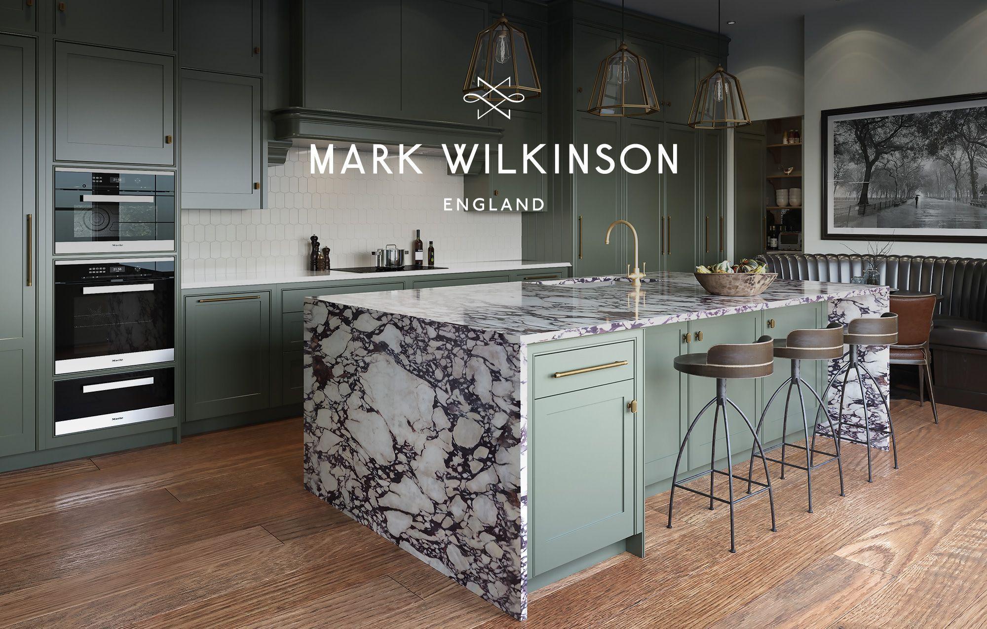 Mark Wilkinson Furniture New england kitchen