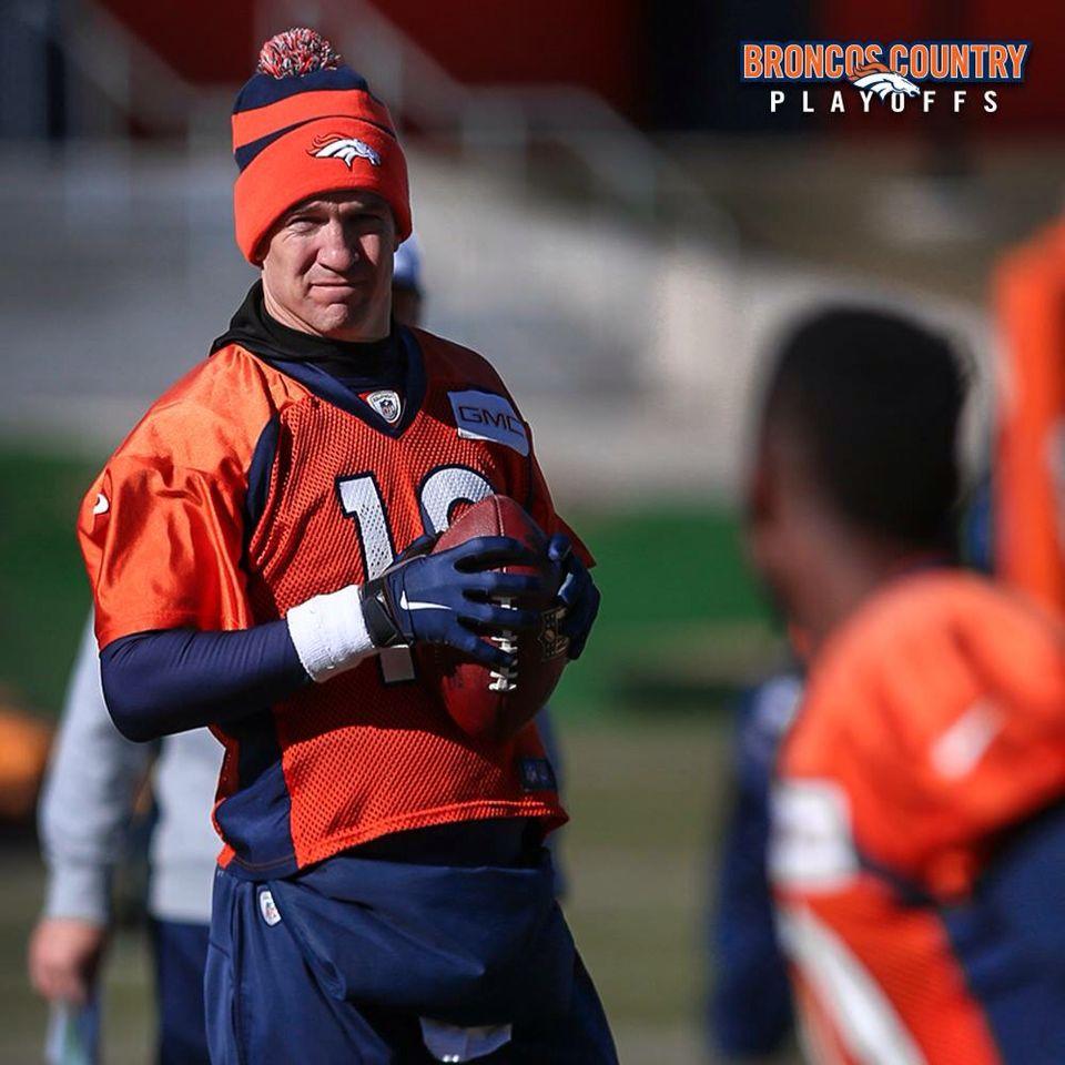 Denver Broncos beat New England heads to Super Bowl