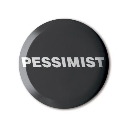 #BBOTD @stereohype #button #badge of the day by FL@33 https://www.stereohype.com/411__fl33 #pessimist #not