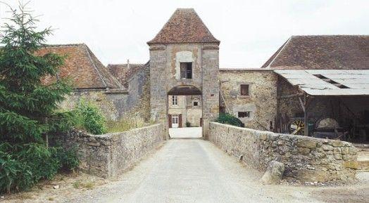 Ferme de la Salle (porche du0027entrée), Grandpuits-Bailly-Carrois