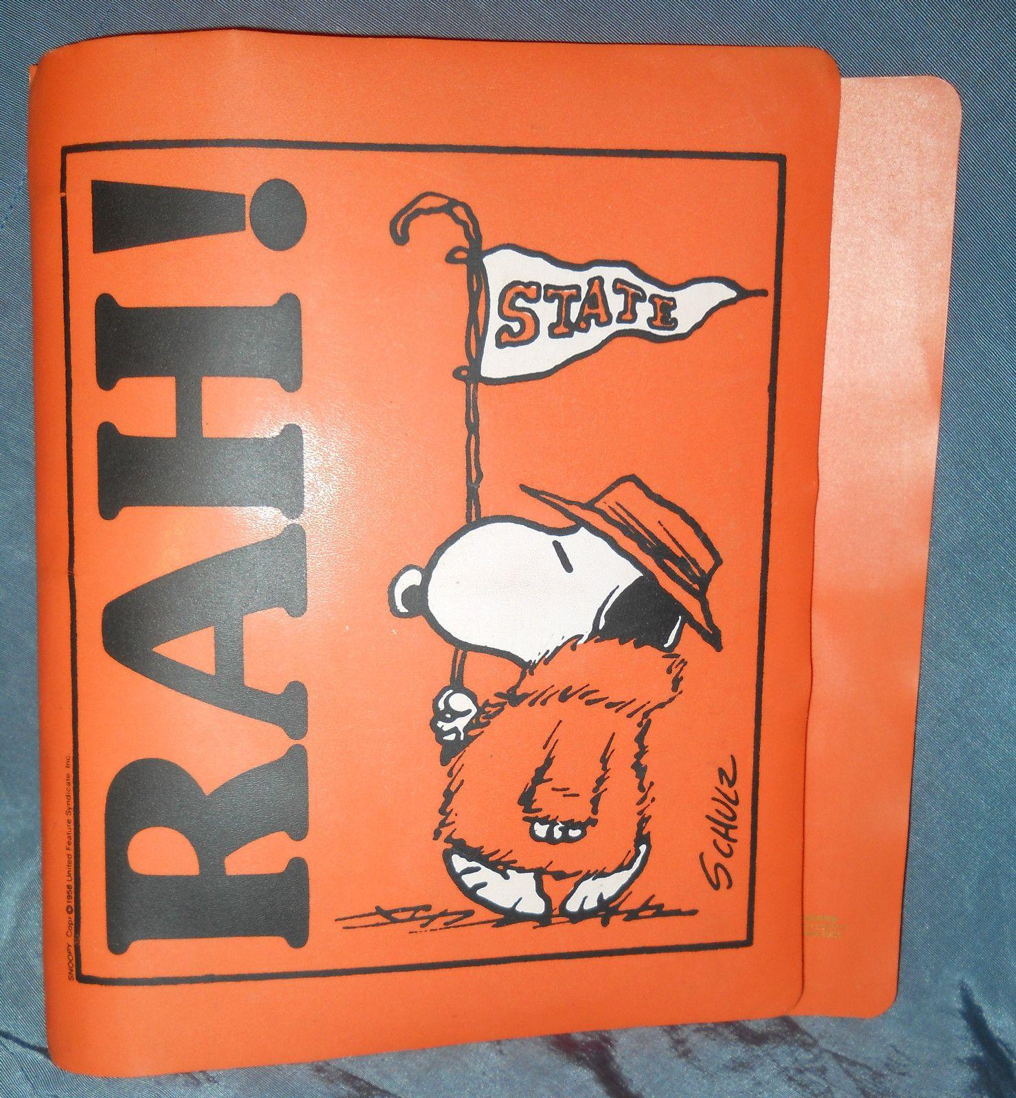"Snoopy ""Rah!"" Binder"