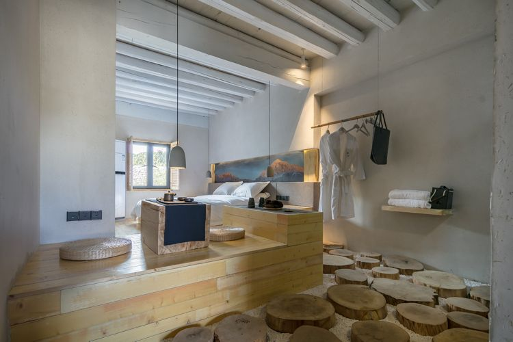 zen design hotelzimmer weiss holz kies #holiday #house #hotel ...