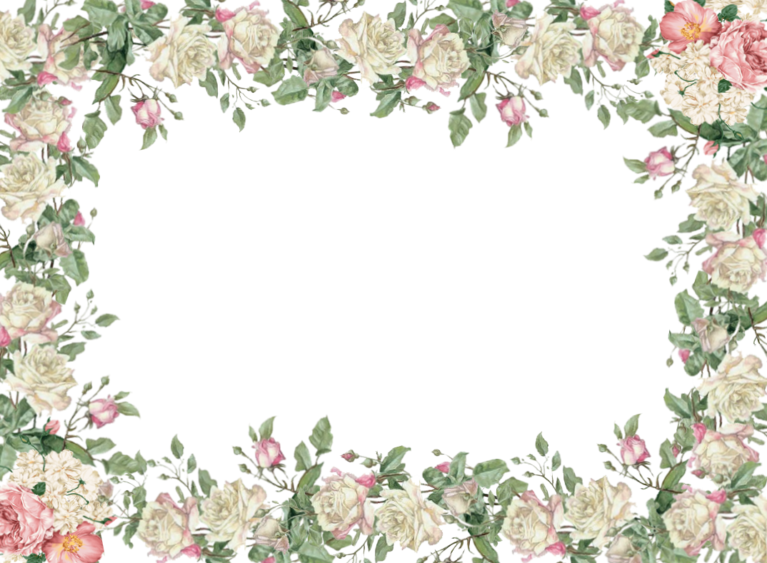 free green floral frame - photo #26
