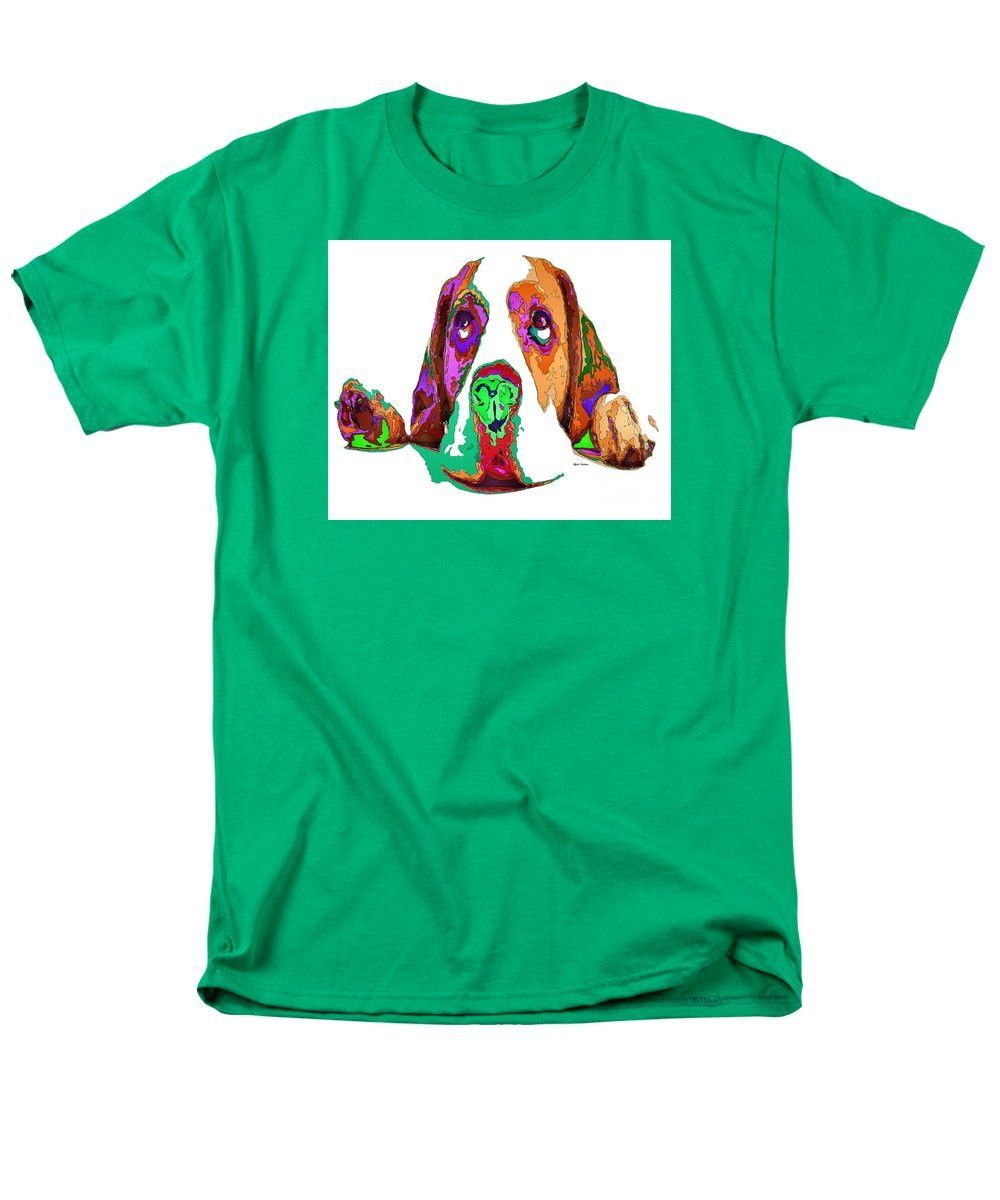 Men's T-Shirt (Regular Fit) - I Have Been Good, I Promise. Pet Series