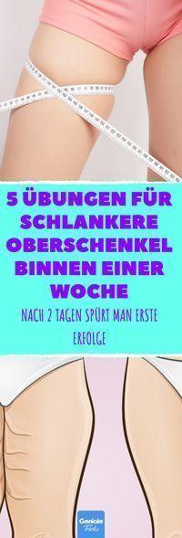 #diet gym #einer #für #Oberschenkel #schlankere #training #Übungen #Woche         5 Übungen für schl...