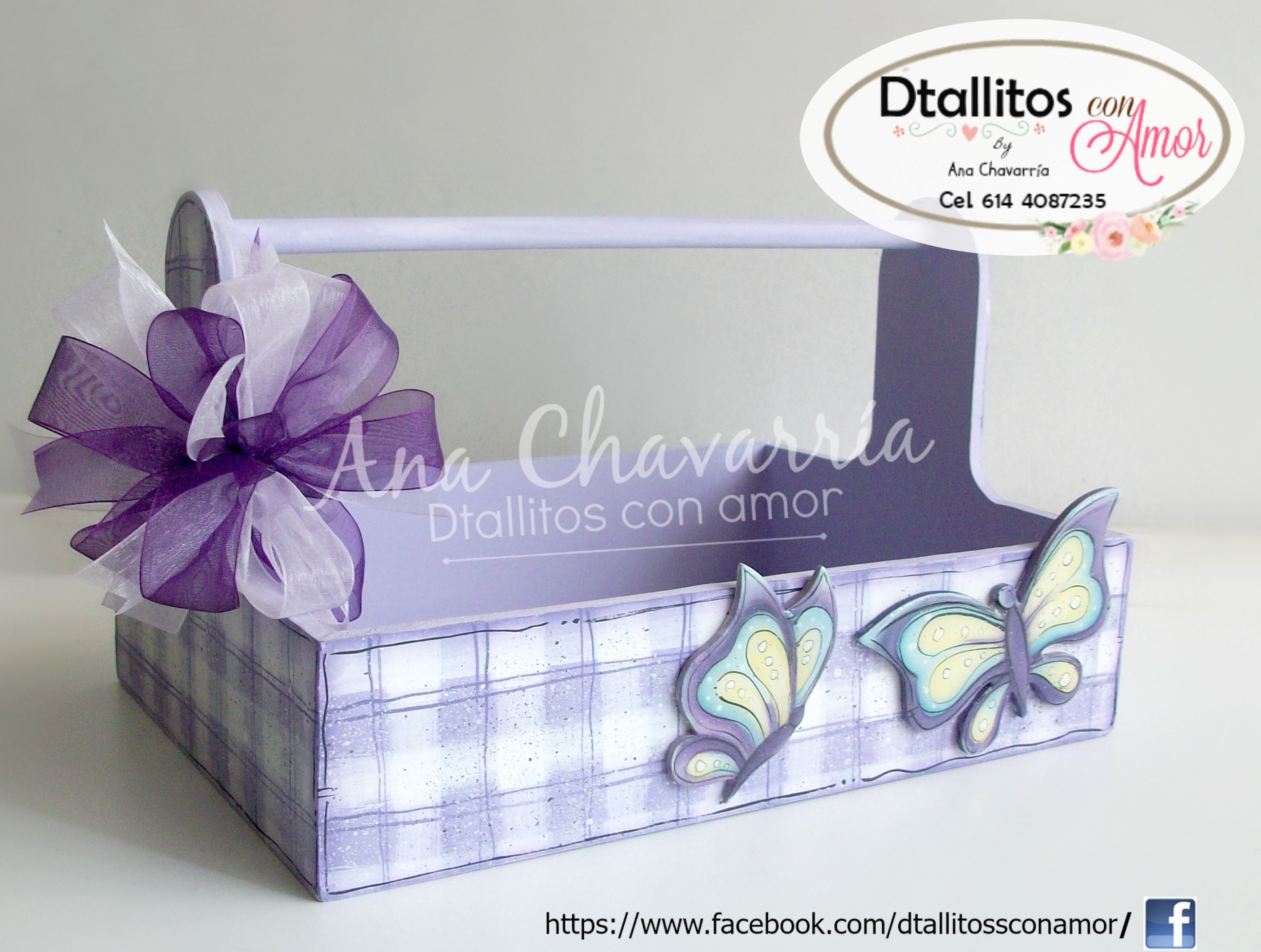 canasta para distintivos baby shower
