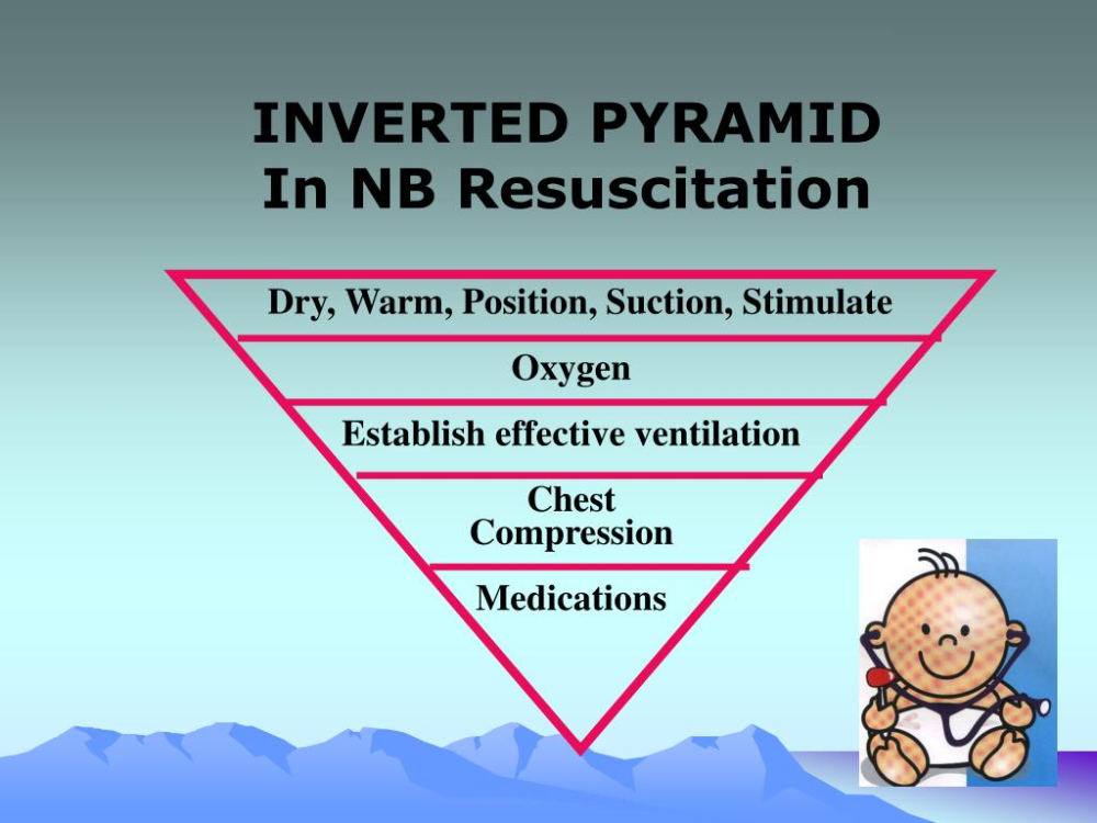 NEWBORN RESUSCITATION Tactile stimulation, Positivity