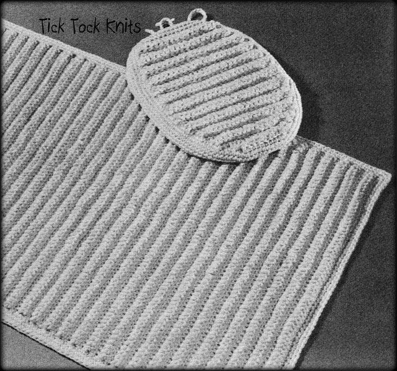 No 1002 Ridge Stitch Bathroom Rug Toilet Seat Cover Crochet Etsy In 2020 Bathroom Rugs Toilet Seat Cover Bath Rugs