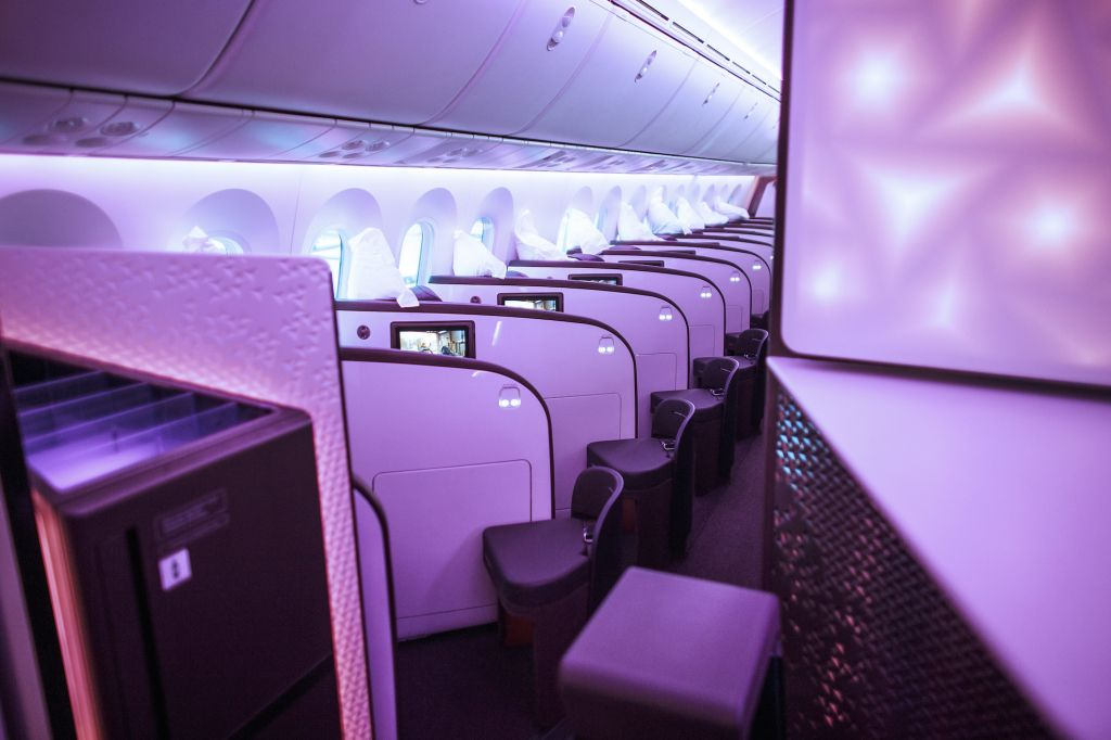 Virgin Atlantic 787 Upper Class and Premium Economy